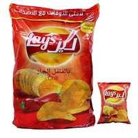 ليز شيبس بطاطا بنكهة الفلفل الحار 17 غرام 20 حبة