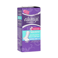 Always Panty Liners Normal Fresh Scent 20 Pads