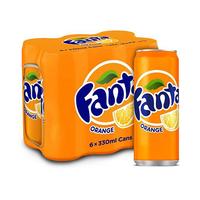 Fanta Can 330ML X 4 + 2 Free
