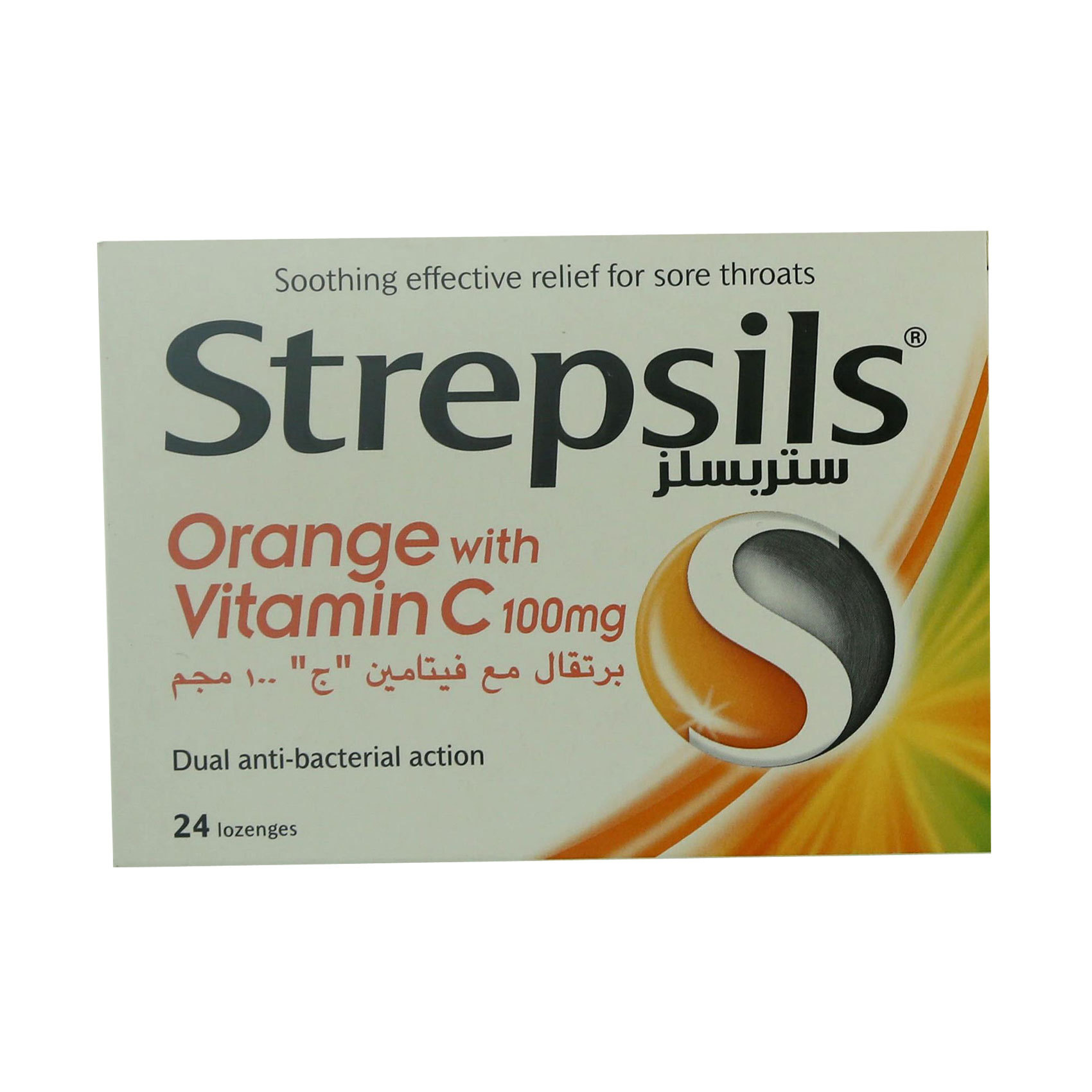 STREPSILS VITAMIN C 24's