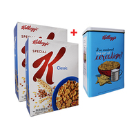 Kellogg's Special K Flakes Original 375GR X 2 + Tin Free