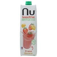 Nu Smoothie Strawberry Banana 1L