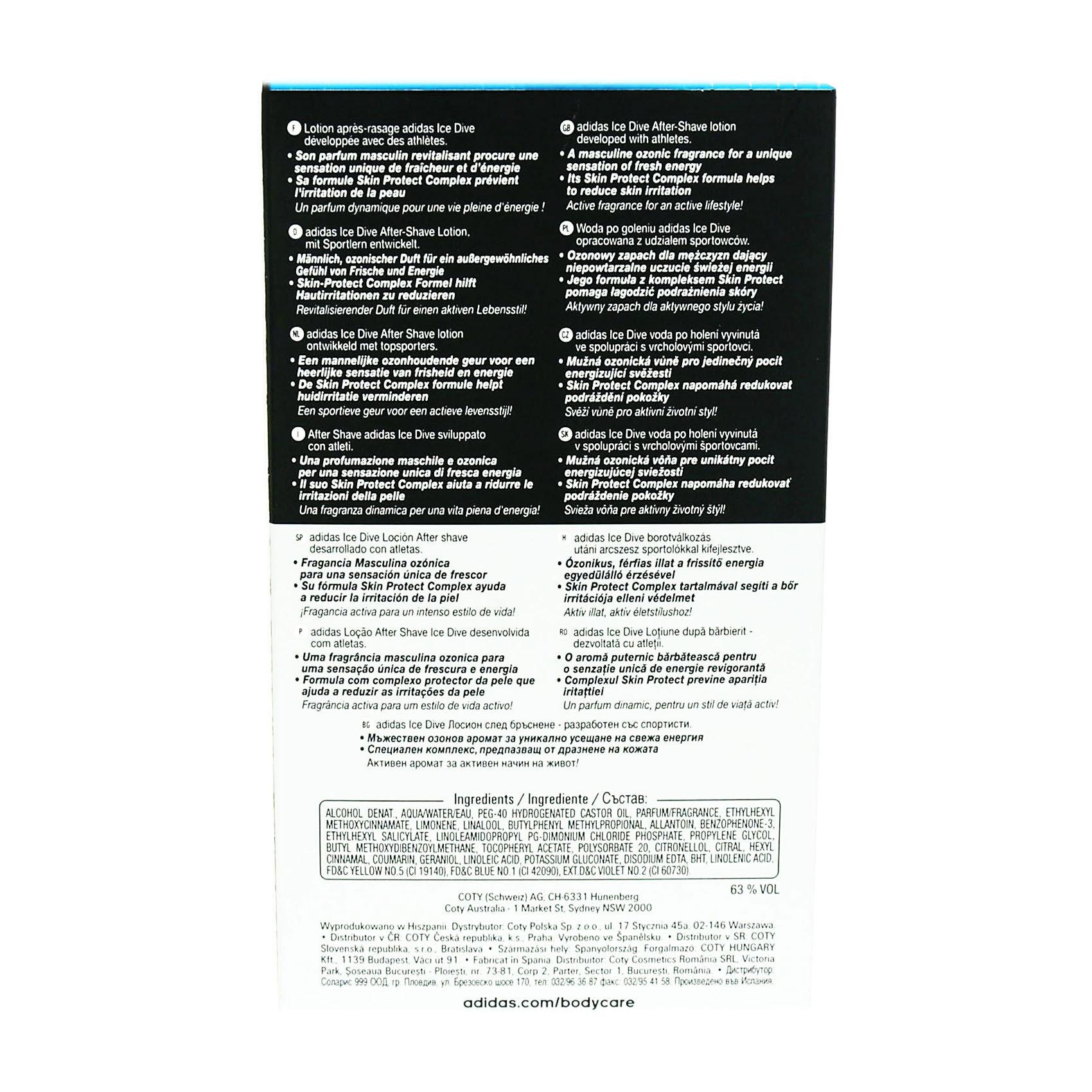 ADIDAS A/SHV ICE DIVE 100ML