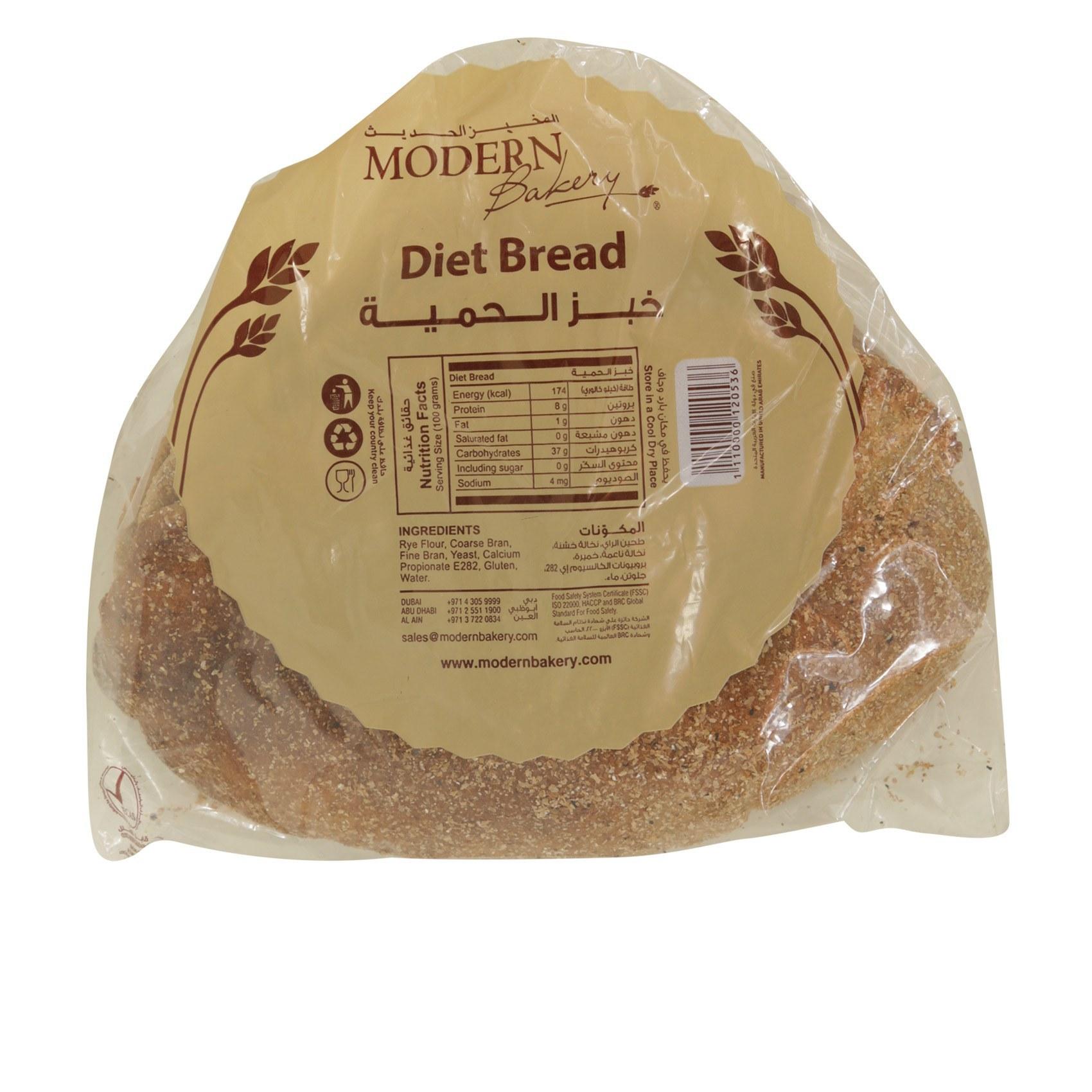 M BAKERY ARABIC DIET BREAD1X4