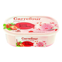 Carrefour Ice Cream Strawberry 1l