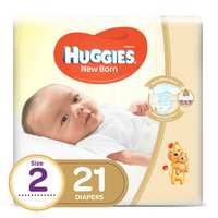 Huggies Diapers Small Signet No.2 4-8 Kg 21 Diapers