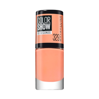 Maybelline New York Nail Polish Color Show 60 Seconds Canal Street Coral 329 7ML