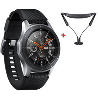 "Samsung Galaxy Watch (46mm) 1.3"" SM-R810N Black Silver + Level U Pro Bluetooth Headset"