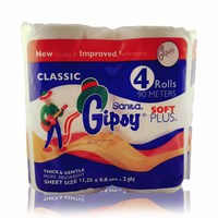 Gipsy Toilet Paper Soft Plus 4 Rolls