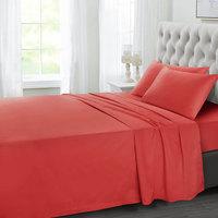 Tendance's Flat Sheet King Red Tomato 275X260