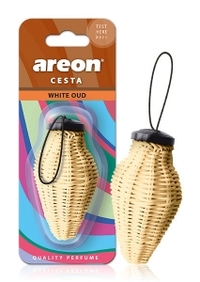 Areon Air Freshener White Oud Cesta