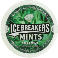 Icebreakers Mints Spearmints Ultimate Mouth Freshening 42g