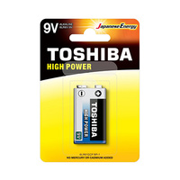 Toshiba High Power Alkaline Blue 9V 1 Piece