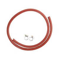 Gas Hose With Clamps 150 Cm