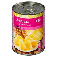 Carrefour Pineapple pieces 560g