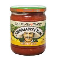 Newman's Own Pineapple Salsa Medium Chunky 453g