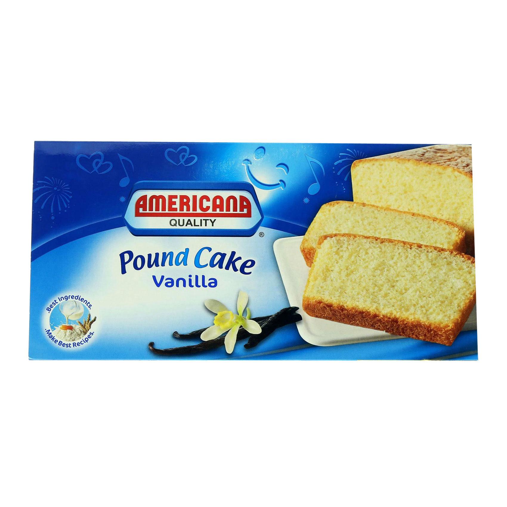AMERICANA POUND CAKE VAN 295G
