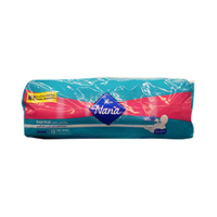 Nana Ladies Pads Extra Thick Super Towels 10 Napkins