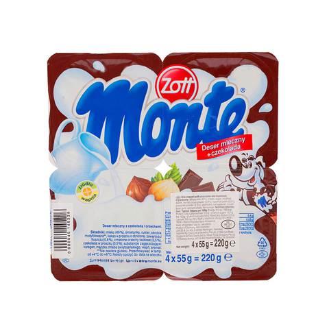 Zott-Cream-Dessert-Choc-55g-x4