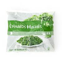 Carrefour Spinach Chopped Verdura 1 Kg