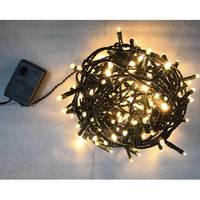 Outdoor Lv Chain Light 180Ww Led - 8,95 M- 8 Functions -N151A