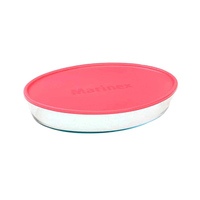 Marinex Oval Baking Dish With Collapsible Lid