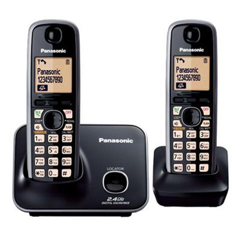 Panasonic-Cordless-Phone-KX-TG3712-BXB-Black