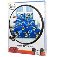 Mickey Quilt Cover 3pc Set
