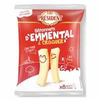 Président Emmental Stick Cheese 144g