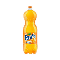 Fanta Soft Drink Plastic Bottle Orange 2.25L