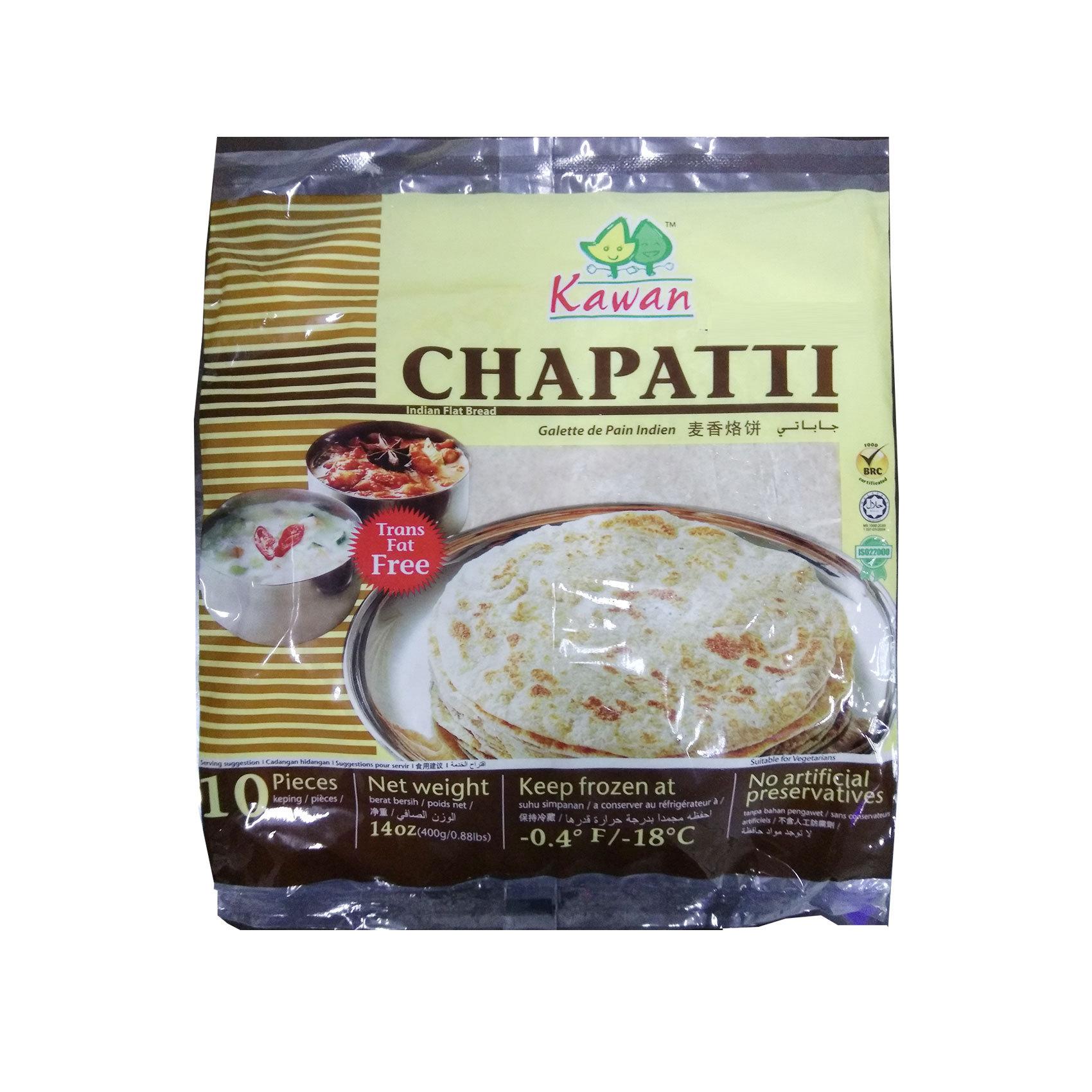 KG CHAPATTI BREAD 400G