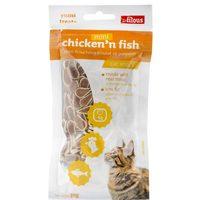 Les Filous Cat Snack Mini Chicken n ' Fish 50g