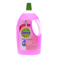 Dettol 4 in 1 Multi Action Cleaner Rose 3 Liter