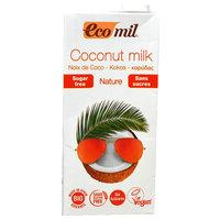 Ecomil Coconut  Milk Sugar Free Bio 1L