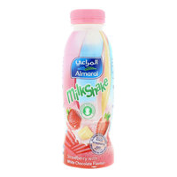 Almarai Milkshake Strawberry with White Chocolate flavor 340ml