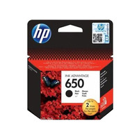 HP 650 Black Ink Advantage Cartridge