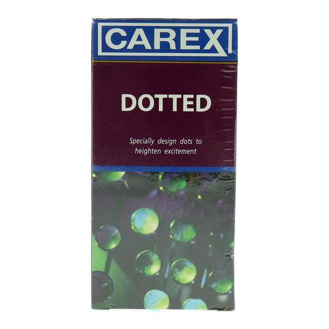 Carex-Dotted-12-Condoms