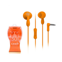 Remax Earphone with Mic RM301 Orange