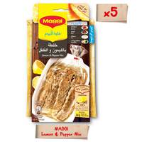 Maggi Lemon & Pepper Mix 27g x5 Sachets