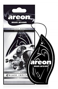 Areon Air Freshener Mon Black Crystal Cardbaord