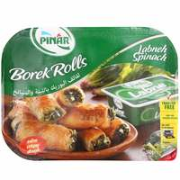 Pinar Borek Rolls With Labneh & Spinach Pack 500g
