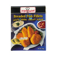 Al Kabeer Breaded Fish Fillets 330g