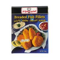 Al Kabeer Breaded Fish Fillets 330g