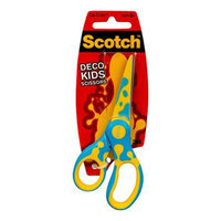 Scotch Kids Deco Scissors14Cm (Assorted)