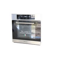 Bompani Built-In Electric Oven BO243EH/E 60 Cm With Grill Black