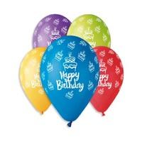 Happy Birthday Balloons 10/300 1201