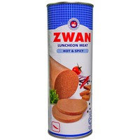Zwan Luncheon Meat Hot and Spicy 850g