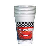 Disney Cup Car Formula 200ML 8 Pieces