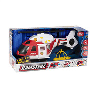 Teamsterz Light & Sound Big Fire Rescue Helicopter