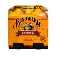 Bundaberg Ginger Bev 375mlx4